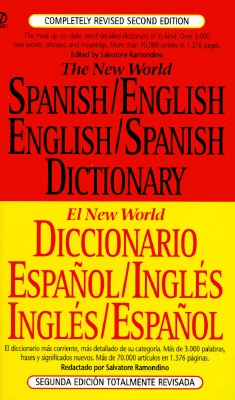 Image for The New World Spanish/English, English/Spanish Dictionary (El New World Diccionario español/inglés, inglés/español) (Spanish and English Edition)