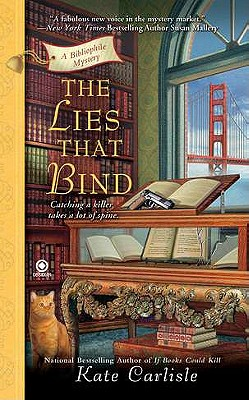Image for The Lies That Bind: A Bibliophile Mystery