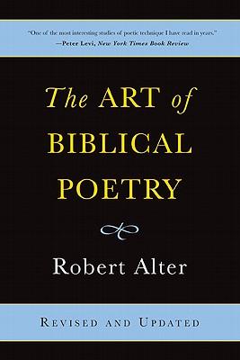 The Art of Biblical Poetry, Robert Alter