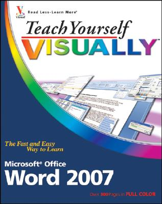 Teach Yourself VISUALLY Word 2007, Marmel, Elaine