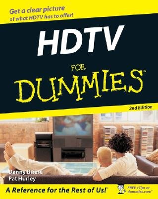 Image for HDTV FOR DUMMIES