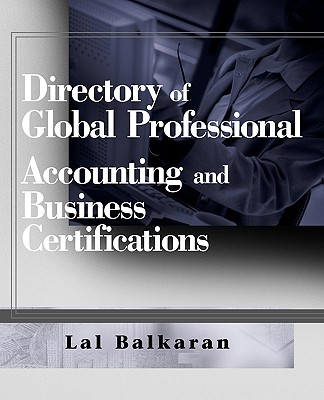 Image for Directory of Global Professional Accounting and Business Certifications