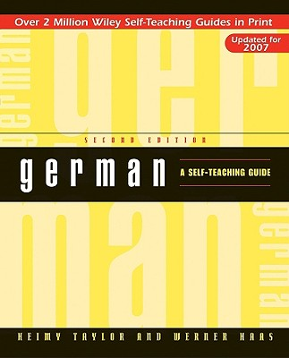Image for German: A Self-Teaching Guide