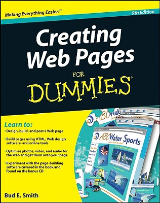 Creating Web Pages For Dummies, Smith, Bud E.