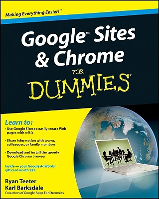 Image for Google Sites and Chrome For Dummies