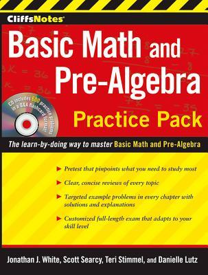 "CliffsNotes Basic Math and Pre-Algebra Practice Pack, ""Lutz, Danielle, Stimmel, Teri,"""
