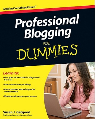 Image for Professional Blogging For Dummies
