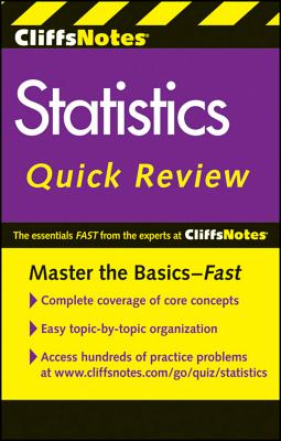 Image for CliffsNotes Statistics Quick Review, 2nd Edition (Cliffsquickreview)