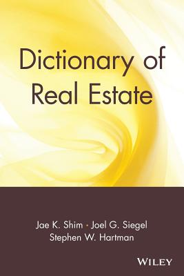Image for Dictionary of Real Estate