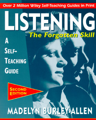 Image for Listening: The Forgotten Skill
