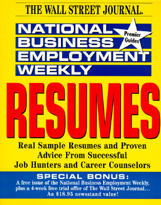 Image for Resumes (The National Business Employment Weekly Premier Guides)