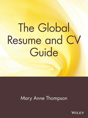 Image for GLOBAL RESUME AND CV GUIDE