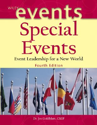 Image for Special Events: Event Leadership for a New World (The Wiley Event Management Series)