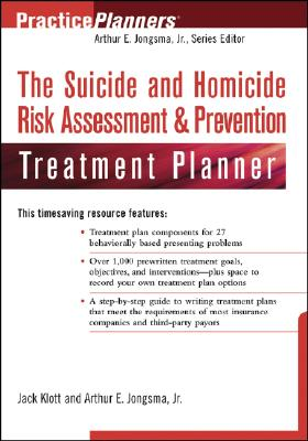 Image for The Suicide and Homicide Risk Assessment & Prevention Treatment Planner