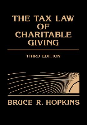 Image for The Tax Law of Charitable Giving