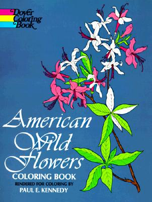 Image for American Wild Flowers: Coloring Book