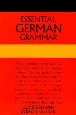 Image for Essential German Grammar (Dover Language Guides Essential Grammar)