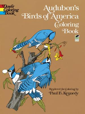 Audubon's Birds of America Coloring Book, Audubon, John James; Coloring Books