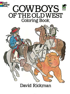 Image for COWBOYS OF THE OLD WEST COLORING BOOKS