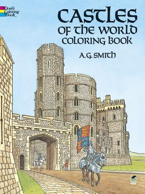Image for Castles of the World Coloring Book (Dover History Coloring Book)