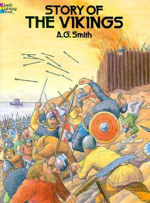 Image for Story of the Vikings Coloring Book (Dover pictorial archive)