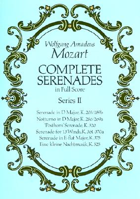 Image for Complete Serenades in Full Score, Series II (Dover Music Scores)