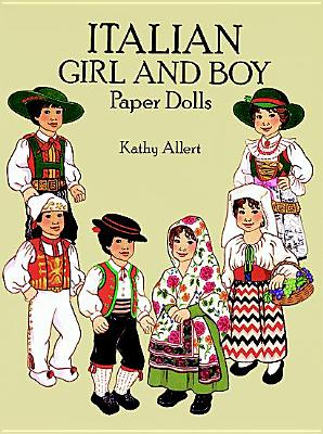 Image for Italian Girl & Boy Paper Dolls