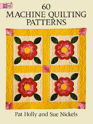 Image for 60 Machine Quilting Patterns (Dover Quilting)