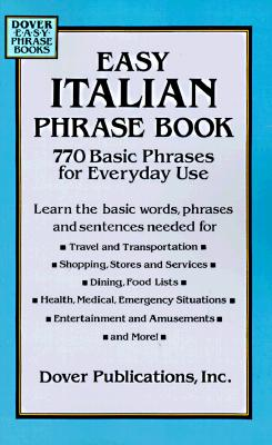 Image for Easy Italian Phrase Book: 770 Basic Phrases for Everyday Use