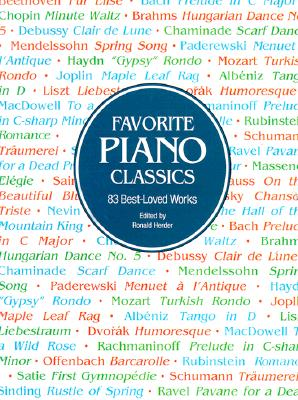 Favorite Piano Classics (Dover Music for Piano), Classical Piano Sheet Music