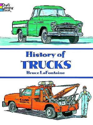 Image for History of Trucks (Dover History Coloring Book)
