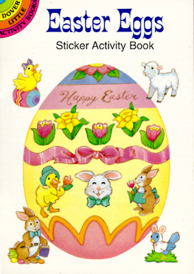 EASTER EGGS STICKER ACTIVITY BOOK, BEYLON, CATHY