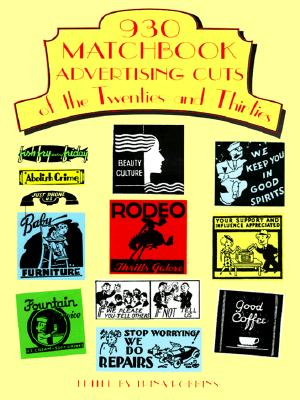 Image for 930 Matchbook Advertising Cuts of the Twenties and Thirties (Dover Pictorial Archive)
