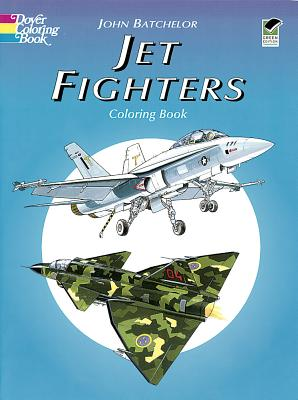 Image for Jet Fighters Coloring Book