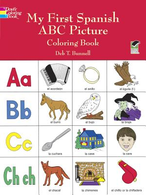 Image for My First Spanish ABC Picture Coloring Book (Dover Children's Bilingual Coloring Book)