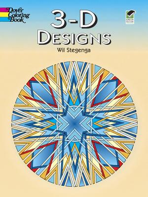 Image for 3-D Designs (Dover Design Coloring Books)