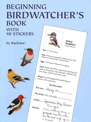 Image for Beginning Birdwatcher's Book: With 48 Stickers (Dover Children's Activity Books)