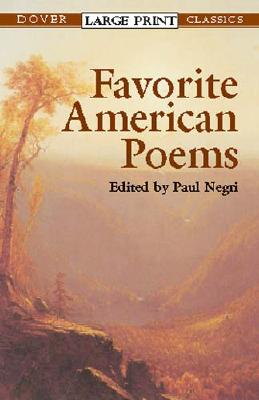 Image for Favorite American Poems (Dover Large Print Classics)