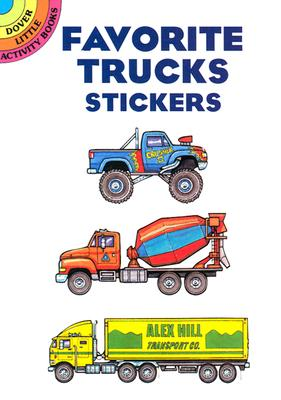 Image for Favorite Trucks Stickers (Dover Little Activity Books Stickers)