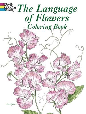 Image for The Language of Flowers Coloring Book (Dover Nature Coloring Book)