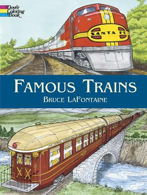 Image for Famous Trains (Dover History Coloring Book)
