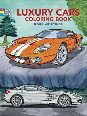 Image for Luxury Cars Coloring Book (Dover History Coloring Book)