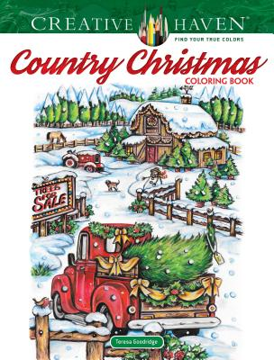 Image for Creative Haven Country Christmas Coloring Book (Creative Haven Coloring Books)