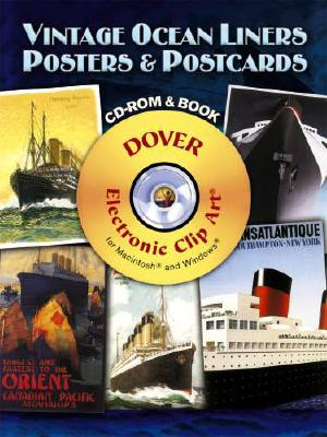 Image for Vintage Ocean Liners Posters and Postcards CD-ROM and Book (Dover Electronic Clip Art)