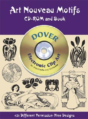 Image for Art Nouveau Motifs CD-ROM and Book (Dover Electronic Clip Art)