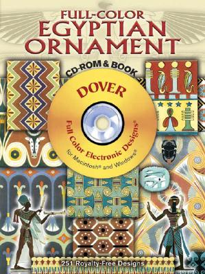 Image for Full-Color Egyptian Ornament CD-ROM and Book (Dover Electronic Clip Art)