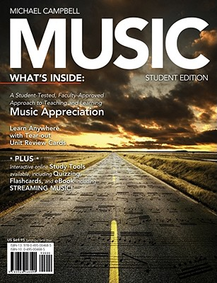Music (with Music CourseMate with eBook Printed Access Card), Michael Campbell