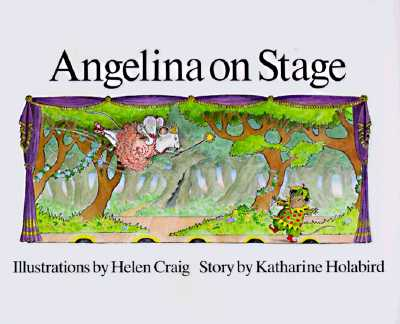 Image for Angelina on Stage   (Angelina Ballerina)