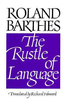 Image for The Rustle of Language