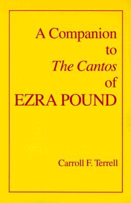Image for A Companion to The Cantos of Ezra Pound